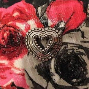 Brighton Accessories - Brighton Madison Zip Around Floral Travel case